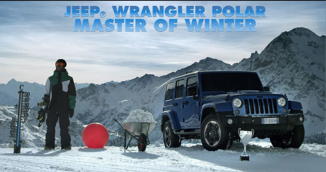 master of winter le performance della nuova jeep wrangler polar ad alta quota. Black Bedroom Furniture Sets. Home Design Ideas
