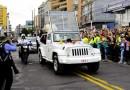 Una Jeep la Papamobile in USA