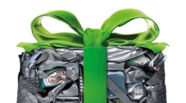 L'auto è (quasi) interamente riciclabile